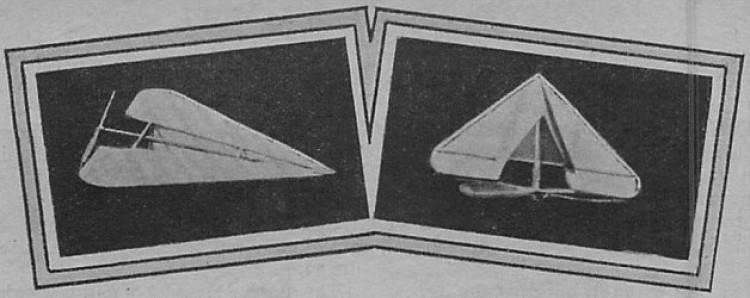 Arrow model airplane plan