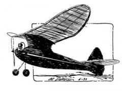 Arrow model airplane plan