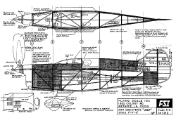 Art Chesters Jeep FSI model airplane plan