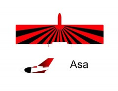 Asa-Jumbo-Arno-Diemer model airplane plan