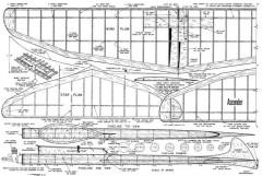 Ascender model airplane plan