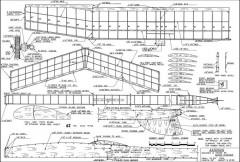Asteroid model airplane plan