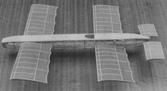 Astra Kapferer model airplane plan