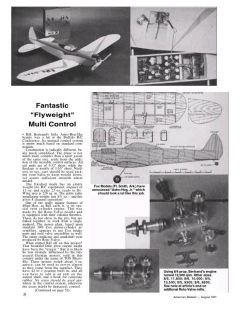 Astro-Hog Jr model airplane plan