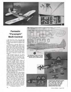 Astro-Hog Jr model airplane plan