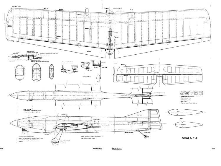 Astro model airplane plan