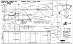 Avia 152-A model airplane plan