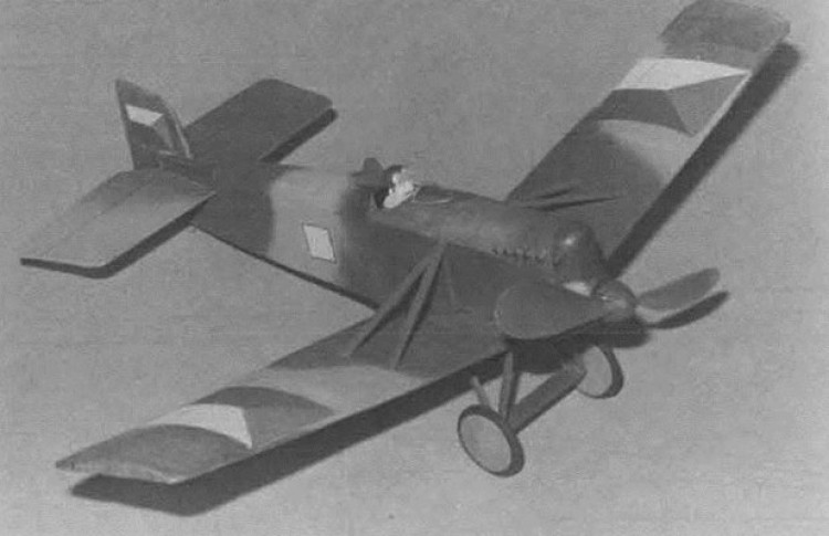 Avia BH-3 model airplane plan