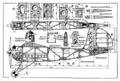 Avion Pour Moteur a Essence model airplane plan
