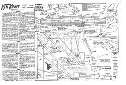 Avro707a model airplane plan