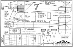 Avro G model airplane plan