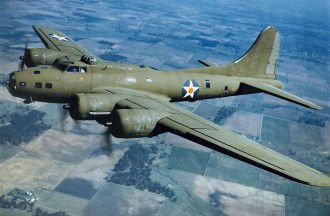 B-17 model airplane plan