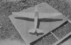 B.F.W. M23c model airplane plan