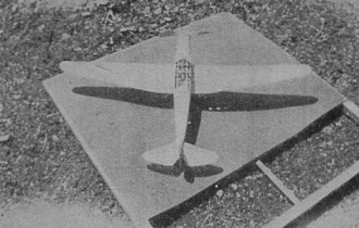 B.F.W. M23c model airplane plan