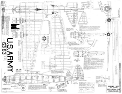 B-17 Flying Fortress model airplane plan