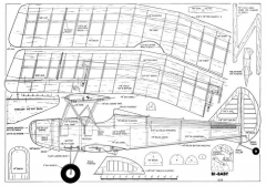 Bi-Baby model airplane plan