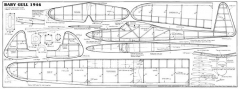 BabyGull35 model airplane plan