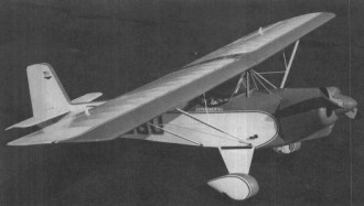Baby Aces model airplane plan