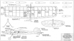 Baby Ringmaster model airplane plan