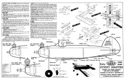 Baby Stunt Master model airplane plan