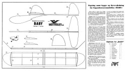 Baby dmi model airplane plan