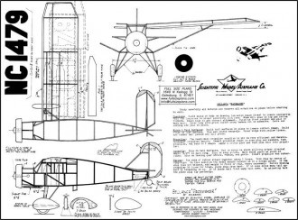 Bellanca Pacemaker . model airplane plan
