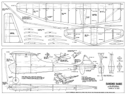 Banshee-Babee model airplane plan