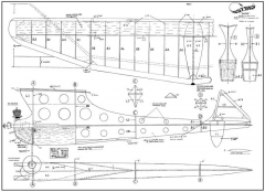 Banshee Astral 50in model airplane plan