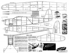Bantam Scientific model airplane plan