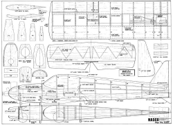 Bar Fli model airplane plan