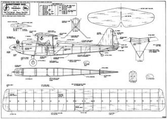 Barnstormer Baby model airplane plan