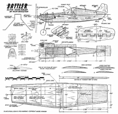 Battler model airplane plan