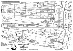 Bearcat CL Al Rabe model airplane plan