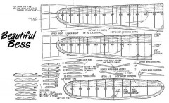 BeautifulBess model airplane plan