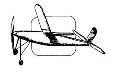 Bebe Contest model airplane plan