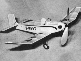 Bebe Jodel D-9 model airplane plan