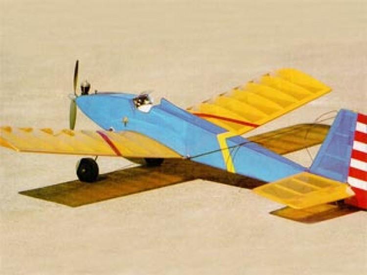 Bee-Tween model airplane plan