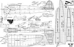Bee model airplane plan