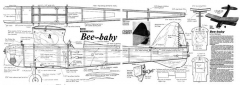 Bee Baby model airplane plan