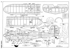 Beechcraft-FM-07-67 model airplane plan