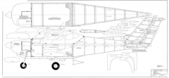 Beechcraft Skipper model airplane plan
