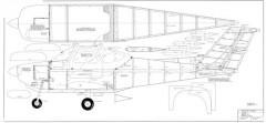 Beechcraft Skipper model airplane plan