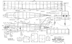 Beechcraft Super Musketeer model airplane plan