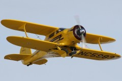 Beech Model D 17 Staggerwing model airplane plan