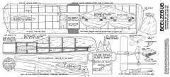 Beelzebub model airplane plan