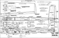 Belaire model airplane plan