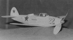 Bell P-39 model airplane plan