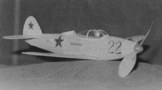 Bell P-39 model airplane plan