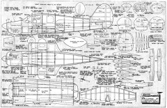 Bellanca-Cruisemaster model airplane plan
