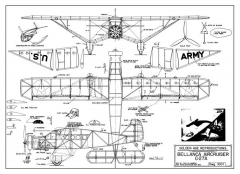 BellancaC-27A Aircruiser model airplane plan
